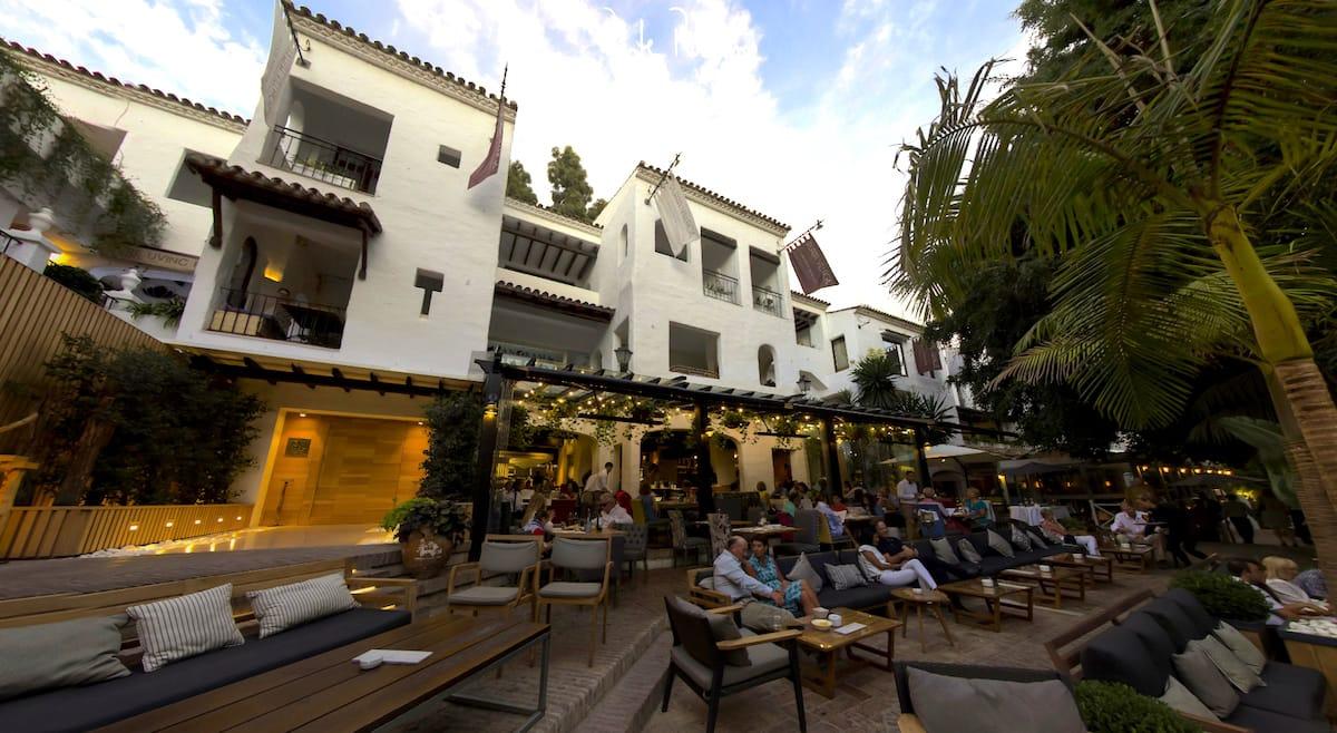 Imagen en 360º del Hotel Puente Romano en Marbella.