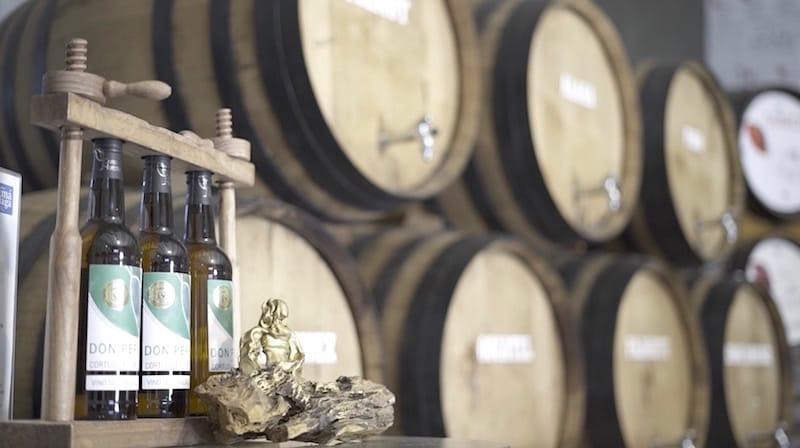 Clip parte de vídeo promocional para empresa de vinos.